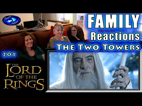 The Lord of the Rings   THE TWO TOWERS   FAMILY Reactions   201   Fair Use