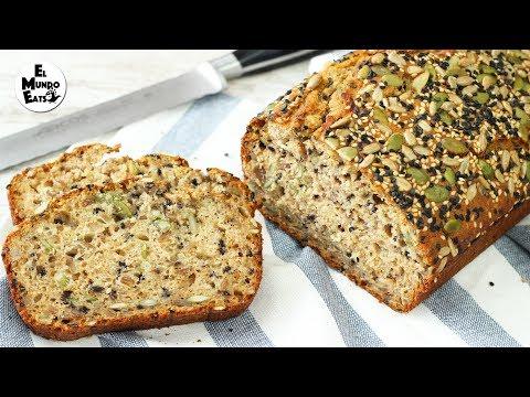 Fast No Knead Multi-Seed Bread