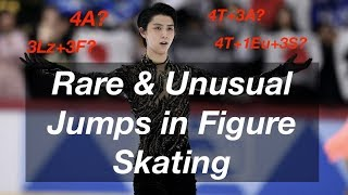 Rare & Unusual Jumps in Figure Skating