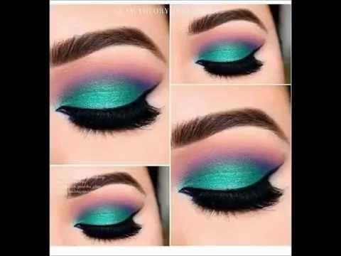 maquillaje de ojos con tendencias 2015 , 2016