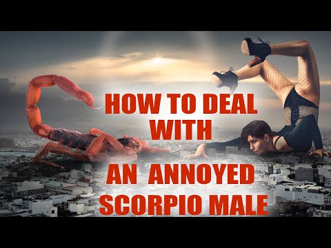 How to deal with scorpio men