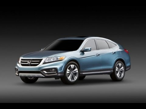 2013 Honda Crosstour Start Up and Review 3.5 L V6