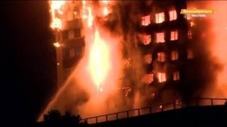 В Лондоне горит многоэтажка, есть пострадавшие