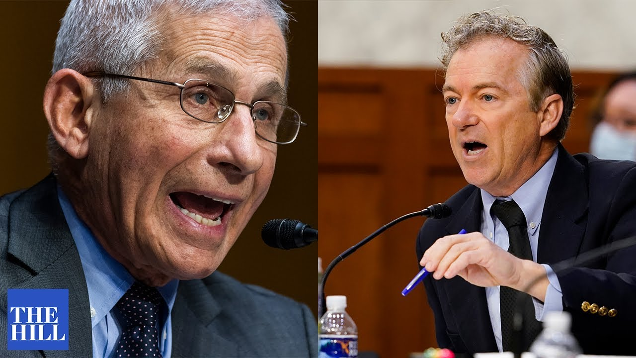 Fauci and Rand Paul clash over SUPER VIRUS CONSPIRACY