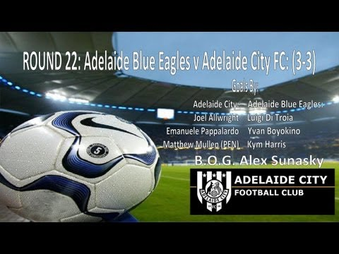 Round 22 Adelaide Blue Eagles v Adelaide City FC (3-3)