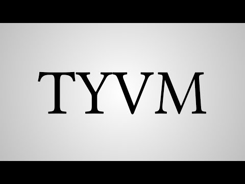 "What Does ""TYVM"" Stand For?"