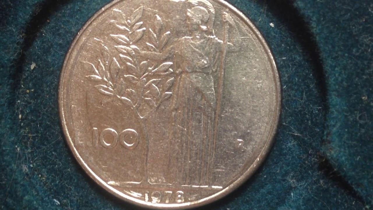 100 Lire Italy Coin 1978