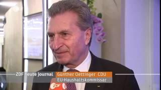 Günther Oettinger zu Trump's Vereidigung