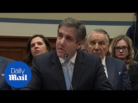 Michael Cohen's testimony: Trump's former personal lawyer alleges the ...