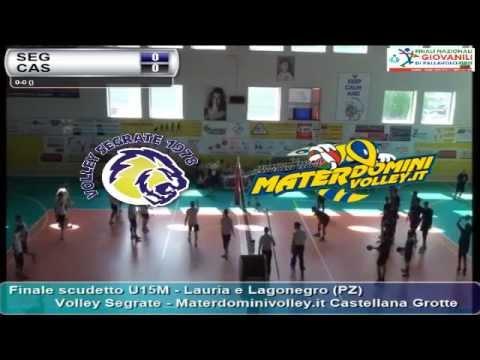 07-06-2015: Finale scudetto U15M - Volley Segrate - Materdominivolley.it Castellana Grotte
