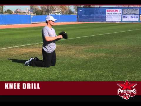 Baseball Tips: The Knee Drill to Improve Glove and Hand Work with Chris Getz
