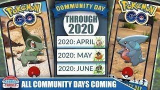 FUTURE COMMUNITY DAY PREDICTIONS THROUGH SPRING 2021! POWERFUL POKEMON COMING! | POKÉMON GO