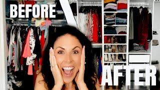 HUGE DIY Closet Makeover on a Budget!