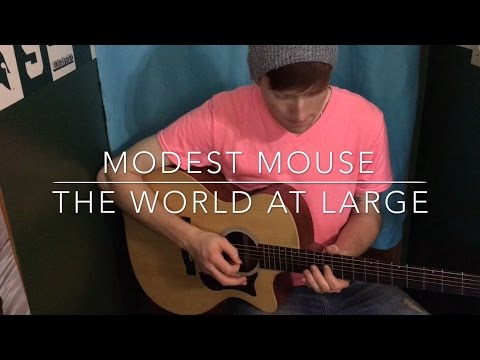 How to play Modest Mouse- The World at Large (rhythm/lead)