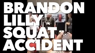 Brandon Lilly 750 lbs squat failed attempt