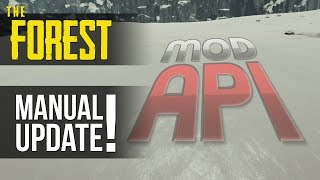 Mod API Manual Update! The Forest Mod Tutorial