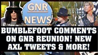 guns n roses news bumblefoot talks reunion new axl tweets gilby clarke steven adler jam