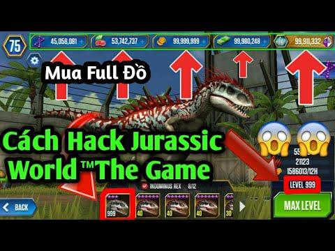 Cách Hack Jurassic World™ The Game 1.41.3   (Mới Nhất 2020)   Mua Đồ Free   No Root   -PQĐ-