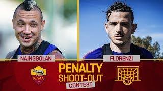 AS Roma Penalty Contest: Nainggolan v. Florenzi (Quarter-final 1)