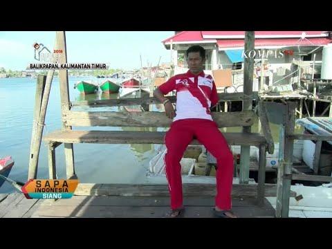 Juara ASEAN Para Games Latihan di Sungai Dekat Rumah