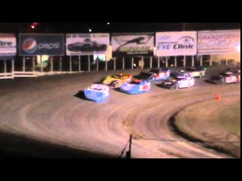 Northern Late Racing Association Feature, River Cities Speedway 5 1 2015