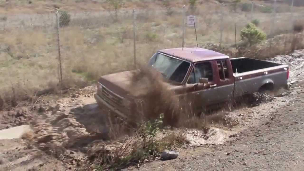 1991 ford f250 mud youtube sciox Images