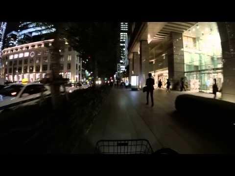 Cycling in Tokyo by Night: Nagatachō _ Uchibori Dori _ Chiyoda