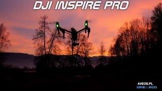 DJI Inspie Pro X5 4K Śnieżka Karkonosze zachód slońca filmowanie z powietrza www.aveos.pl