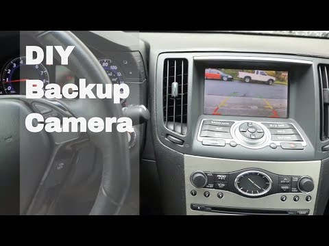 Infiniti G35 G37 – Diy Back Up Camera