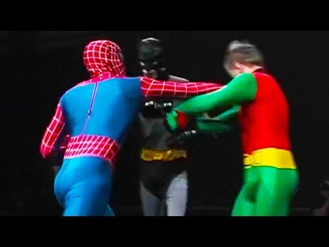 Ozzy Man Reviews: Superhero Showdown