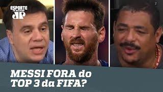 Foi JUSTO MESSI FORA do TOP 3 da FIFA? Veja DEABTE!
