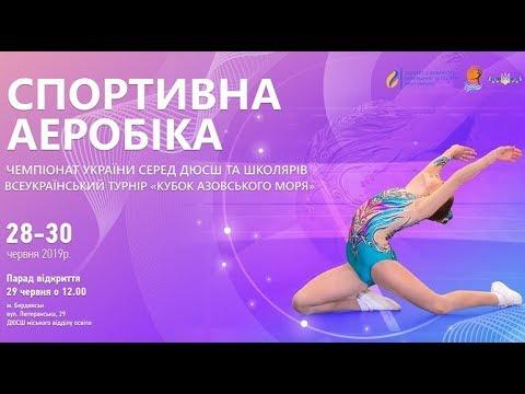 Спортивная аэробика - 29 июня (с 13.00). POINT WebTV