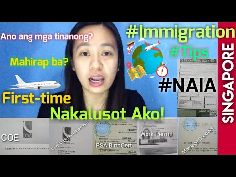 Immigration Experience Sa NAIA PART 2 - (Tagalog)