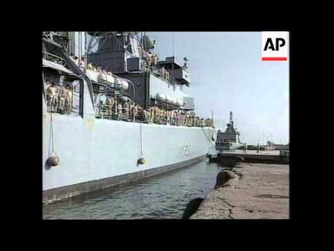 Six more German ships arrive in port