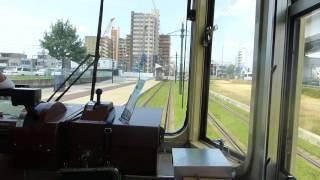 20160820 広島電鉄(宇品二丁目~広島港)乗車
