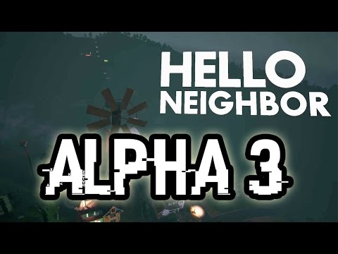 Hello Neighbor ALPHA 3 INTRO!!! FIRST LOOK! thumbnail