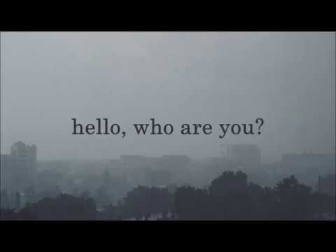 who are you // svrcina