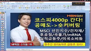 주도주마스터 최현덕대표(21.05.07) 코스피 400…