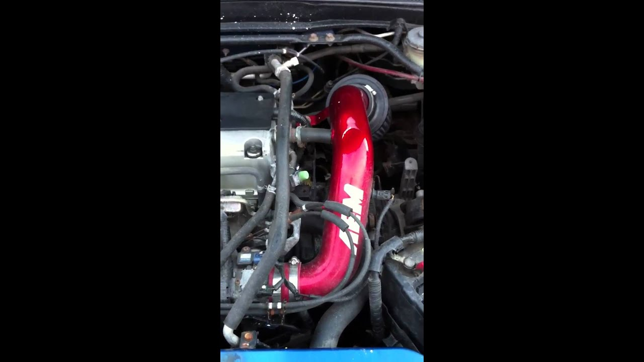 02 Acura Rsx Type S Aem Sr Intake Youtube