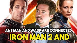 [Urdu/Hindi] How Iron man 2 and Ant man and wasp are connected