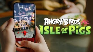 Angry Birds AR: Isle of Pigs - OUT NOW!