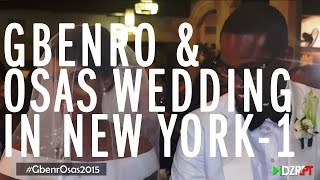 The Wedding Guest Gbenro and Osas White Wedding in New York GbenrOsas2015 1