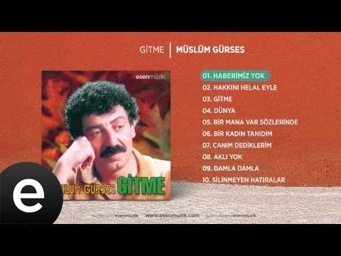 Haberimiz Yok (Müslüm Gürses) Official Audio #haberimizyok #müslümgürses