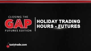 Trading hours for futures options