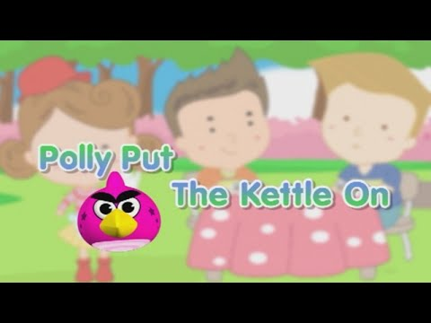 Polly Put The Kettle On [Official Karaoke]