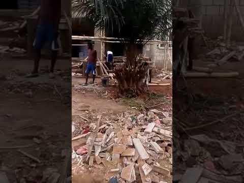Concrete stamp flooring in Epe,Lagos Nigeria.Whats app 08188166752