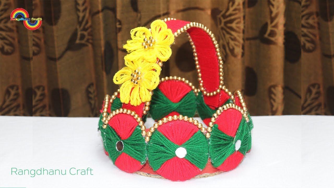 Amazing Home Decor DIY Woolen Craft ideaBest reuse