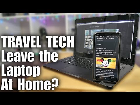 Leave the Laptop at Home? Tech Travel Tips!