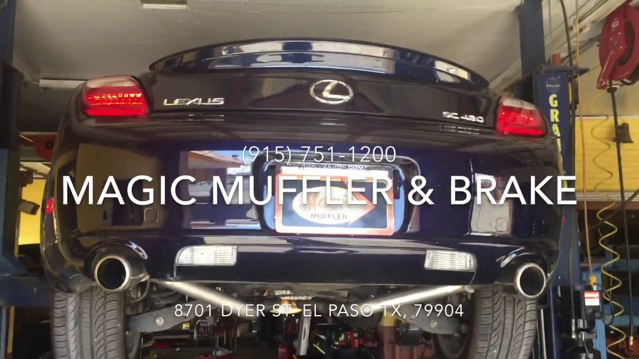 2008 Lexus Sc430 V8 W True Duals Feat Magnaflow Youtube