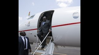 Akufo-Addo leaves for Financial Times Africa Summit in London